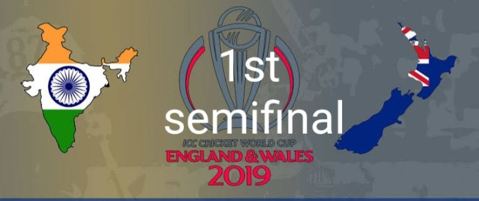 1st Semifinal ICC CWC 2019 IND vs NZL Today Match Prediction