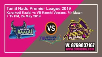 TNPL 2019 7th KAR vs VBK Today Match Prediction Toss Lambi Pari