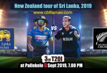 Lanka vs NZL 3rd T20 Match Prediction Today Report Toss Session Lambi Pari CBTF Tips