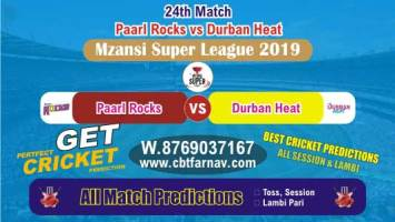 DUR vs PR 24th Match Mzansi Betting Tips & Match Prediction Reports