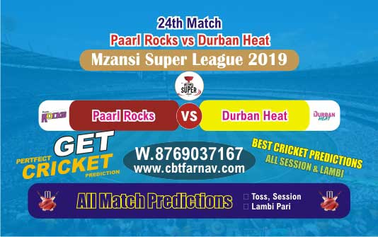 DUR vs PR 24th Match Mzansi Betting Tips & Match Prediction Reports