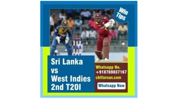 T20 Match Prediction WI vs SL 2nd Match Tips Toss Fancy Lambi