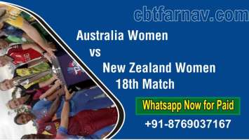 WC T20 Match Prediction NZW vs AUSW 18th Betting Tips Toss Fancy