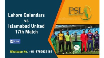 PSL T20 Match Prediction Lahore vs Islamabad 17th Tips Toss Fancy