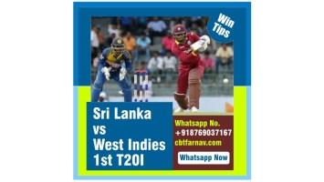 T20 Match Prediction SL vs WI Kala 1st Cricket Tips Toss Fancy Lambi