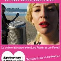 Marion Billy en spectacle le 10 juillet à Versailles