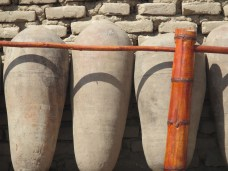 Vats used to make Pisco