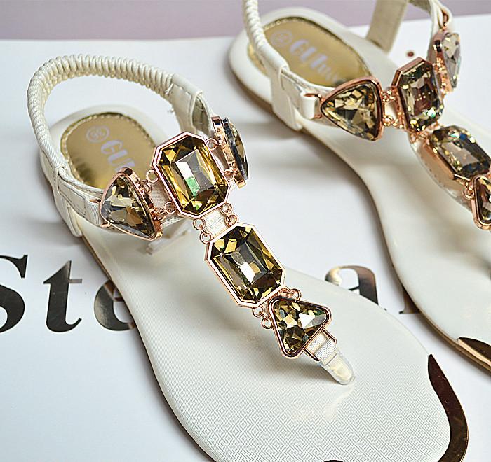 3437712114 1657557736 Woman Sandals 2019 fashion high quality Rhinestone women flip flops shoes ladies casual summer beach shoes