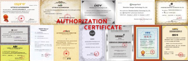 AUTHORIZATION CERTIFICATE