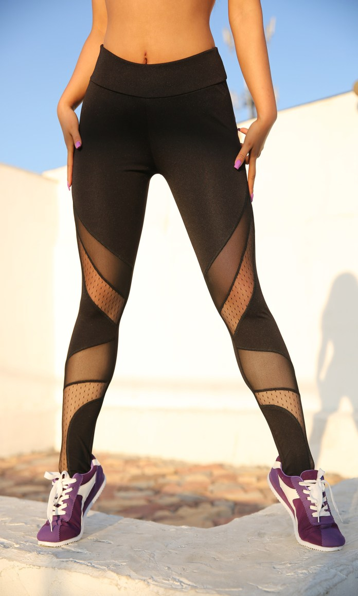 9662763002 2033343064 - Mesh Leggings