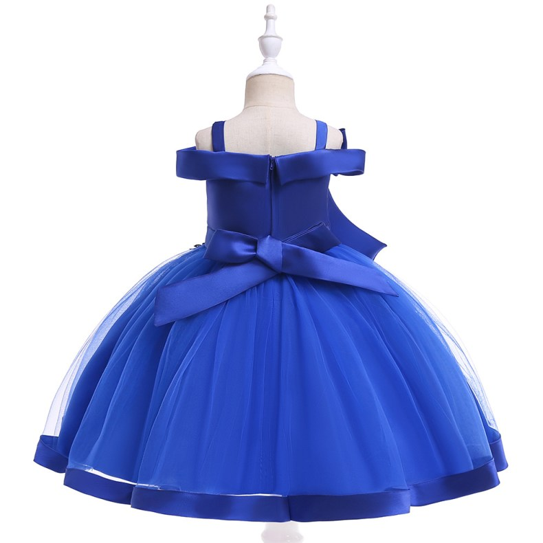 10212502172 1028449503 2019 Kids Tutu Birthday Princess Party Dress for Girls Infant Lace Children Bridesmaid Elegant Dress for Girl baby Girls Clothes