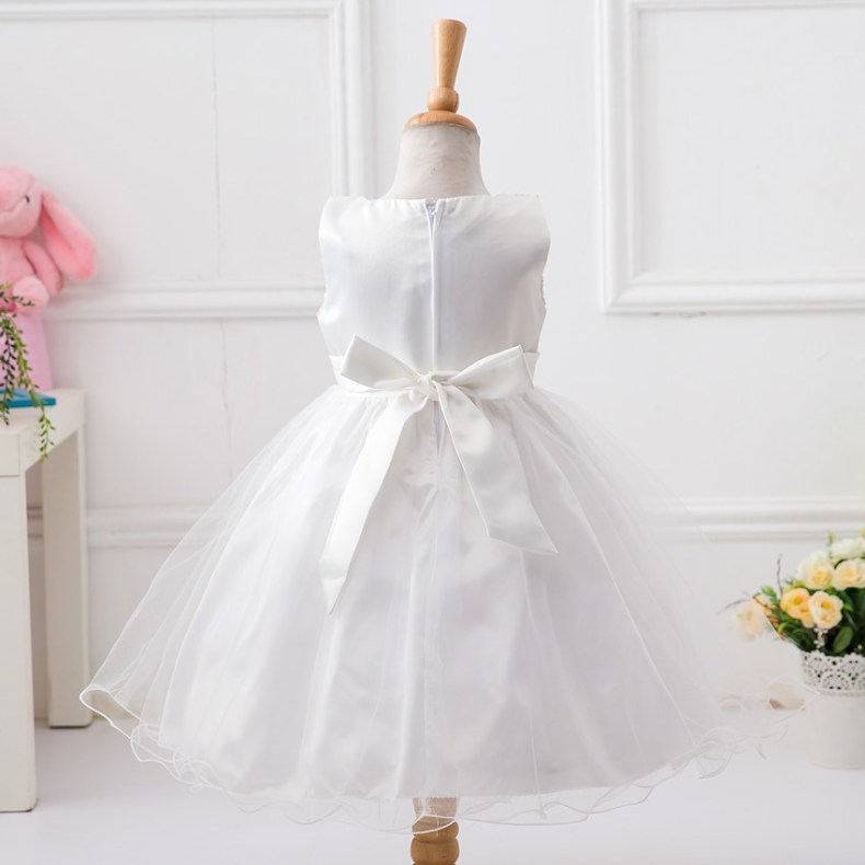 9358961494 1319078801 1-14 yrs teenagers Girls Dress Wedding Party Princess Christmas Dresse for girl Party Costume Kids Cotton Party girls Clothing