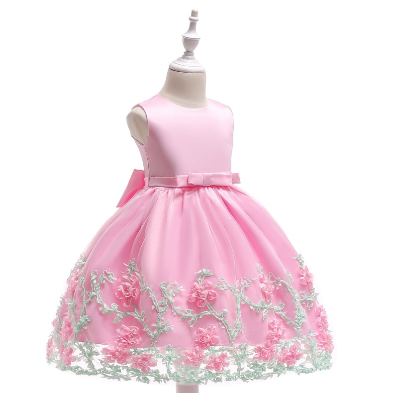 8883296925 1028449503 2019 Kids Tutu Birthday Princess Party Dress for Girls Infant Lace Children Bridesmaid Elegant Dress for Girl baby Girls Clothes