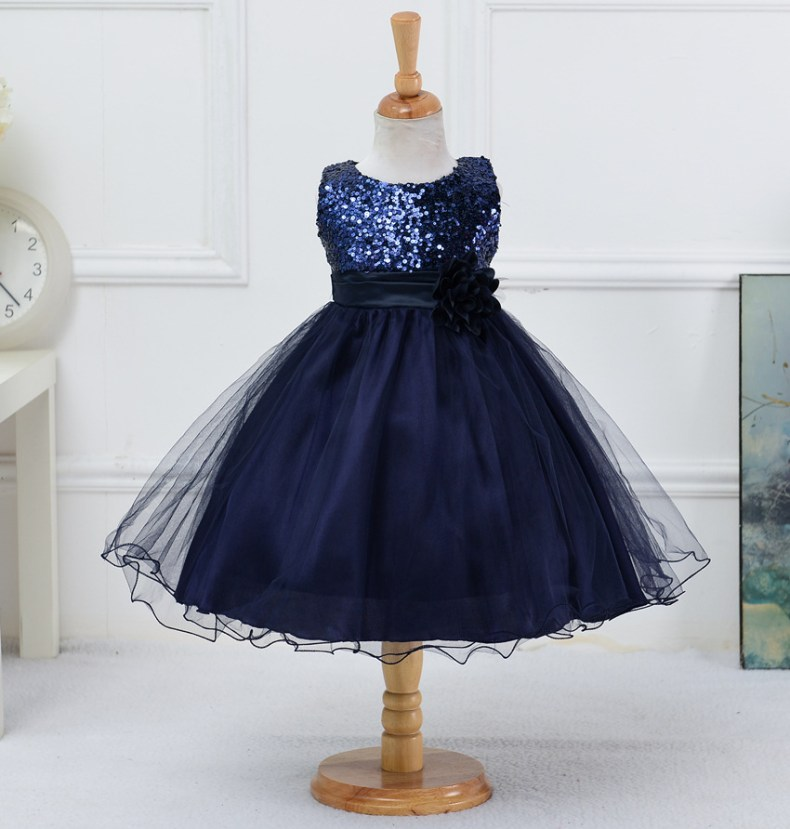 9358943635 1319078801 1-14 yrs teenagers Girls Dress Wedding Party Princess Christmas Dresse for girl Party Costume Kids Cotton Party girls Clothing
