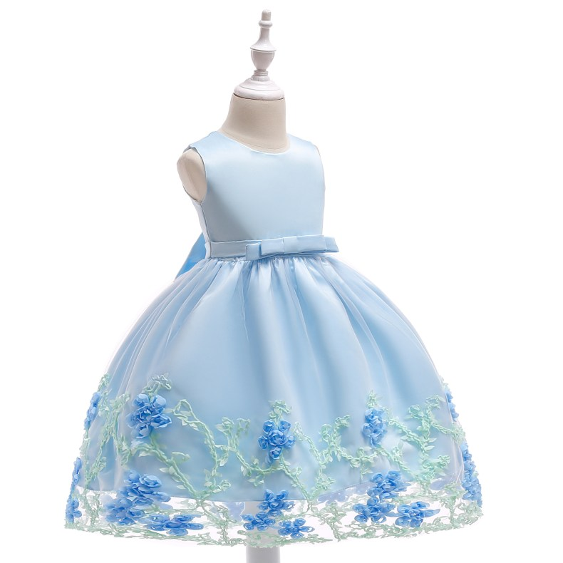 8847033016 1028449503 2019 Kids Tutu Birthday Princess Party Dress for Girls Infant Lace Children Bridesmaid Elegant Dress for Girl baby Girls Clothes
