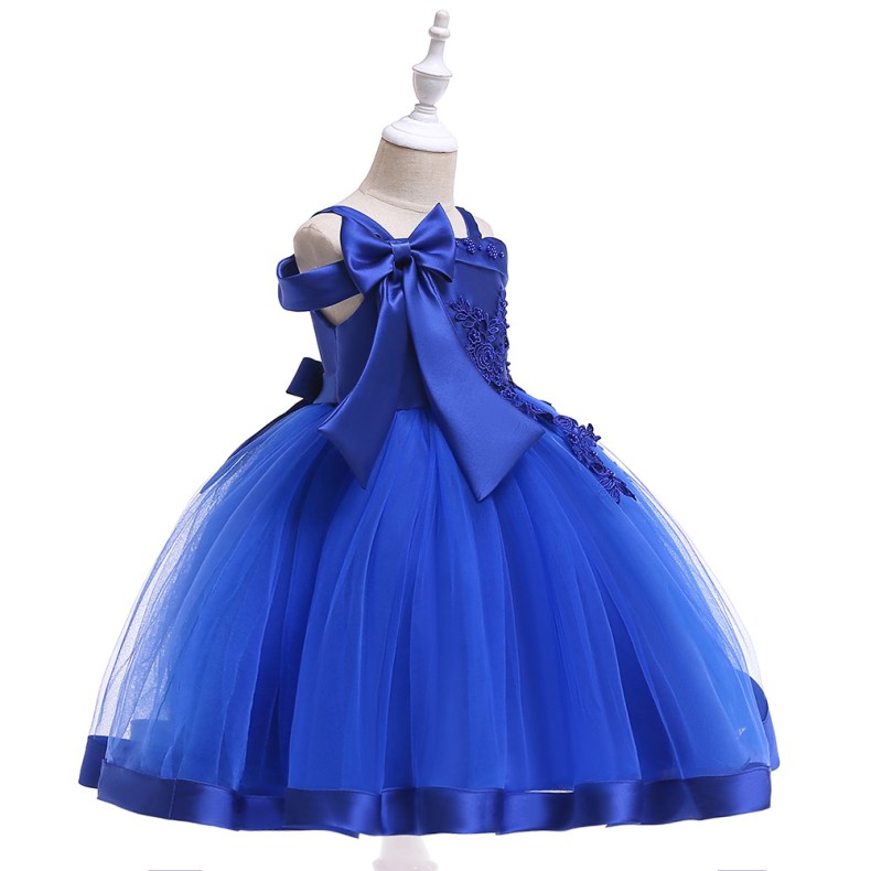 10212505166 1028449503 2019 Kids Tutu Birthday Princess Party Dress for Girls Infant Lace Children Bridesmaid Elegant Dress for Girl baby Girls Clothes