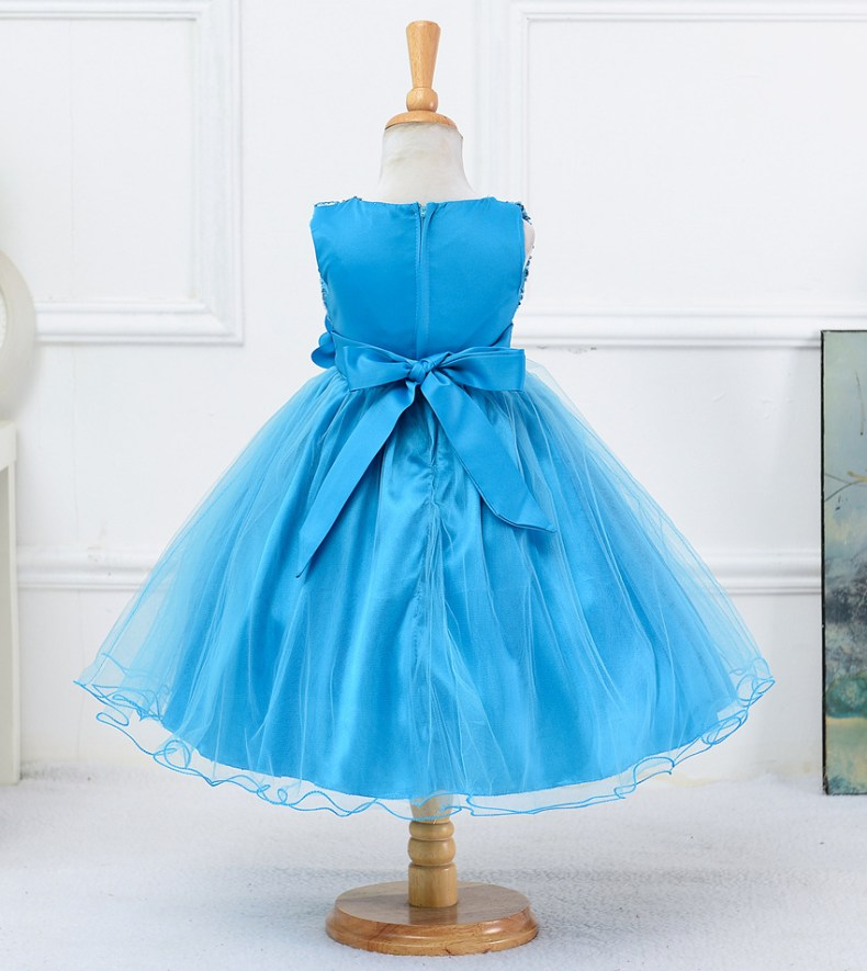 9314721966 1319078801 1-14 yrs teenagers Girls Dress Wedding Party Princess Christmas Dresse for girl Party Costume Kids Cotton Party girls Clothing