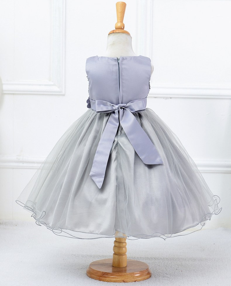 9358940657 1319078801 1-14 yrs teenagers Girls Dress Wedding Party Princess Christmas Dresse for girl Party Costume Kids Cotton Party girls Clothing