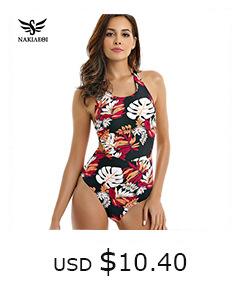 10855256421 1332435120 NAKIAEOI Sexy Bikinis Women Swimsuit 2019 Summer Low Waisted Bathing Suits Halter Top Push Up Bikini Set Plus Size Swimwear XXL