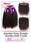 11859570596 580495426 Alipop Hair Straight Hair Bundles With Closure Peruvian Hair 3 Bundles With Closure Remy 100% Human Hair Bundles With Closure