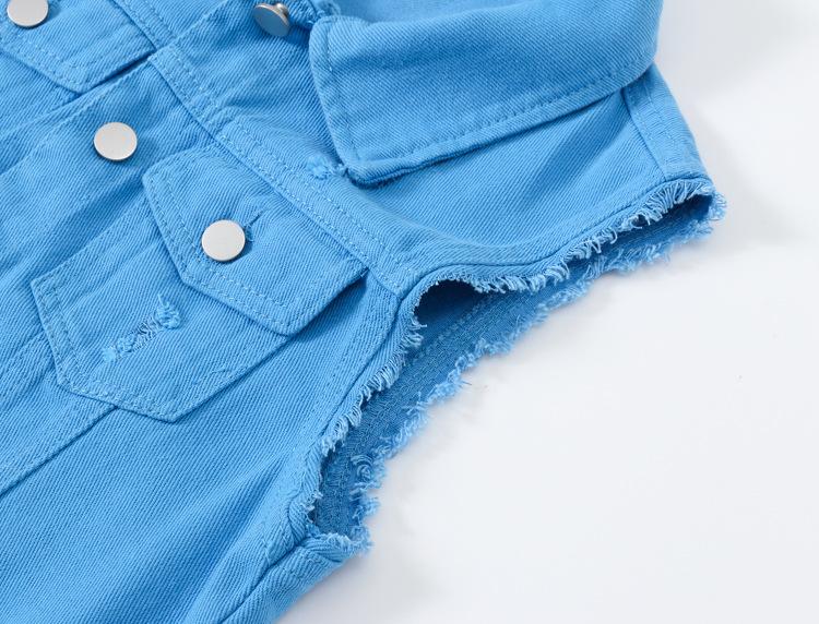 O1CN01U4lu2a29U6uRbrDei !!2206890358070 0 cib Fashion Denim Vest Female Spring Autumn Sleeveless Wild Tops Short Jacket Women Plus Size 5XL Smoky Gray Jean Waistcoat