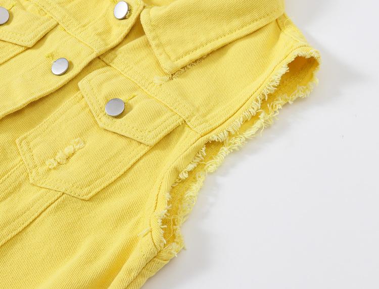 O1CN01oys1Df29U6uRbn7zR !!2206890358070 0 cib Fashion Denim Vest Female Spring Autumn Sleeveless Wild Tops Short Jacket Women Plus Size 5XL Smoky Gray Jean Waistcoat