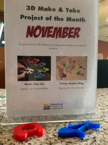 """The library offers monthly """"make and take"""" projects"""
