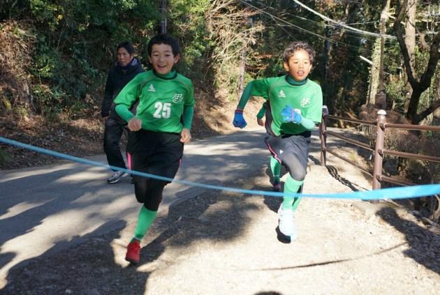 2020年元旦 必勝祈願高尾山マラソンで新年スタート