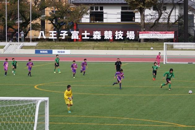 12ブロックU-12リーグ 第8戦  in  富士森競技場