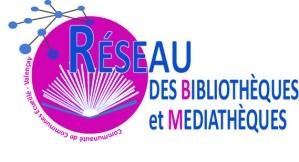 Logo réseau lecture publique