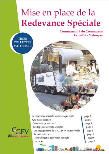 Redevance spécial guide