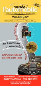 Affiches 2020 Musée de l'Automobile