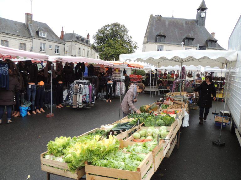 Marché d'Ecueillé