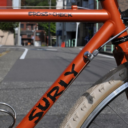 【SURLY Cross-Check 】We are Randonneur.
