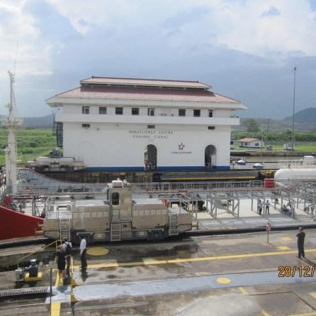 Ship passage through the Panama Canal