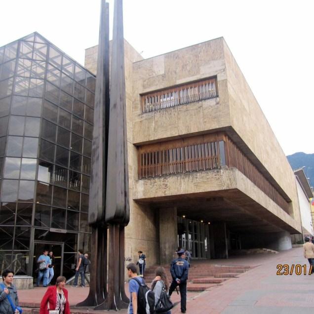 Bog7.Municipal Library in Bogota DownTown Candelaria.IMG_7687