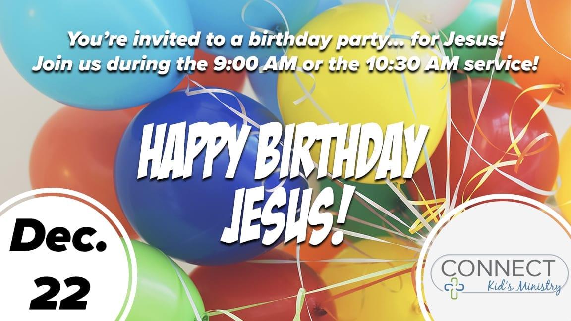 happy birthday jesus children s