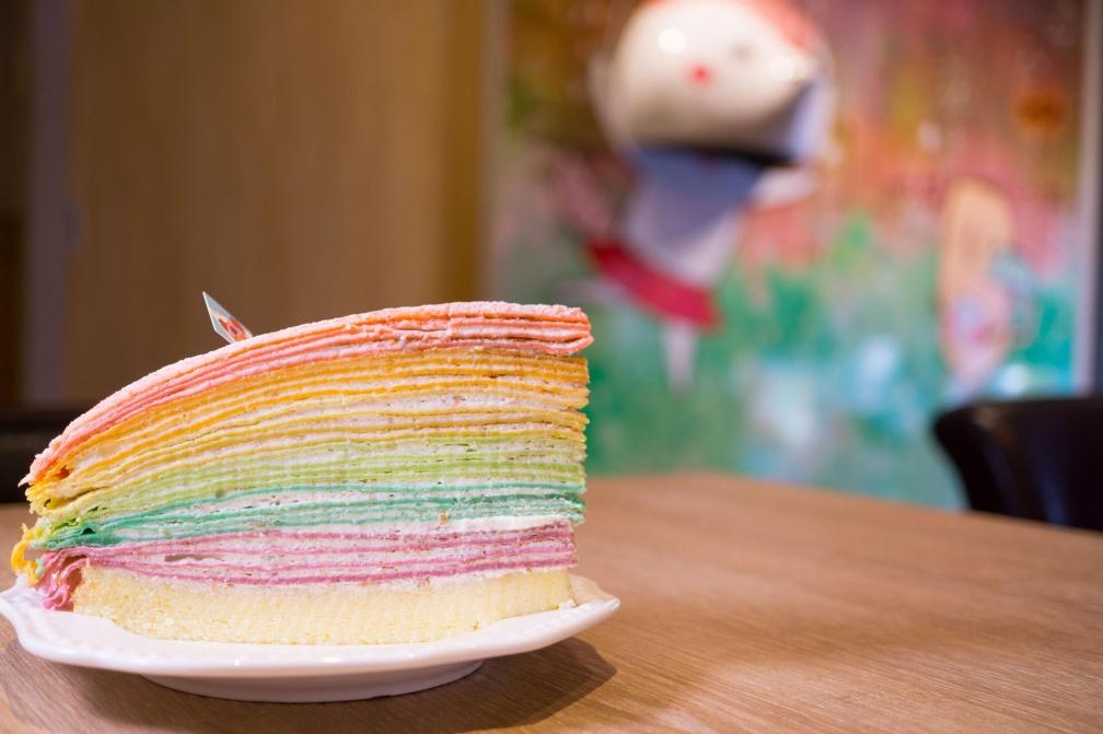 10間必吃!彩虹千層蛋糕大滿貫 | 食尚玩家