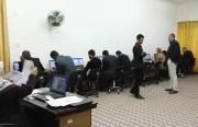 تم أجراء أختبار أمتحان كفاءة اللغة الأنكليزية بتاريخ 28/2/2017