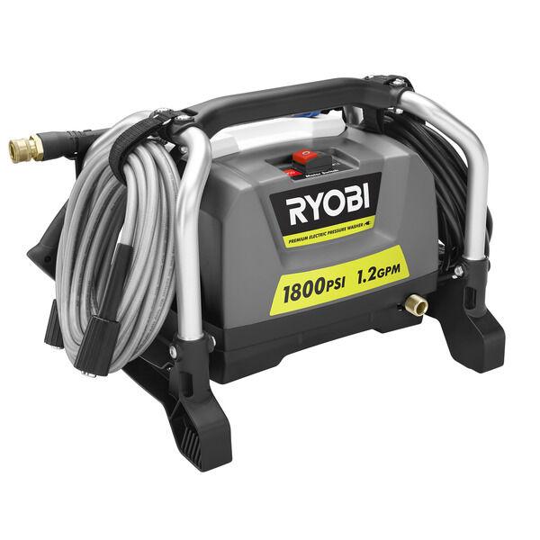 1800 Psi Electric Pressure Washer Ryobi Tools