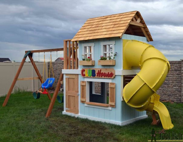 DIY Clubhouse Play Set - RYOBI Nation Projects