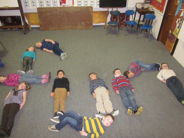 Putting our whole bodies into learning Phonics is FUN!!