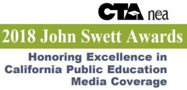 John Swetts Award