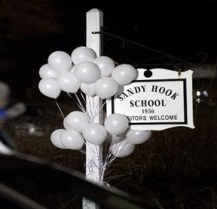 Mourning in Newtown, CT