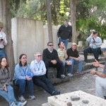 At Rahel's grave, Kinneret Cemetery