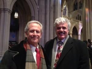 Rabbis Steve Foster & Steve Fox at the National Prayer Service 2013