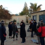 CCAR Social Justice Mission members at Ayalim village of Adiel near Berrsheba