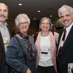 Rabbi Ellen Lewis at 2012 CCAR Convention with Rabbis Michael Weinberg, Rabbi Ellen Weinberg Dreyfus, and Rabbi Steve Fox.
