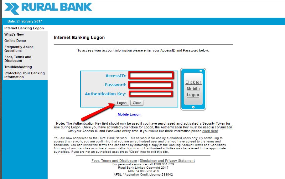 Anz Logon Personal Banking
