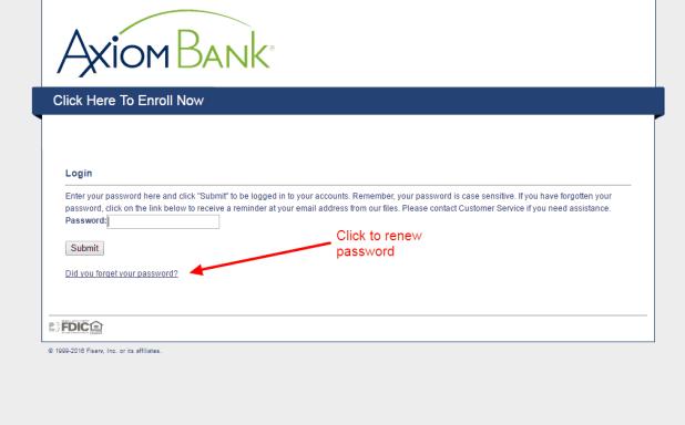Axiom Bank renew